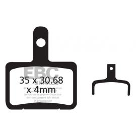 Klocki rowerowe EBC (organiczne wyczynowe) Shimano Deore BR-M515 & BR-M525 Meca 01 And Hydro 03-04 /