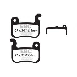 Klocki rowerowe EBC (organiczne) Shimano XTR 03-07 / Shimano Saint / Deore LX 05-07 / XT 04-07 CFA37