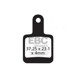 Klocki rowerowe EBC (organiczne) SR Mechanical CFA391