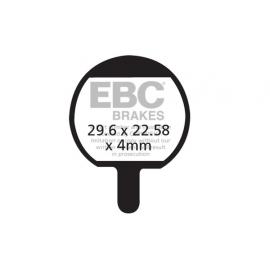 Klocki rowerowe EBC (organiczne) Hayes Sole GX-2 / MX-2 /MX-3 CFA421