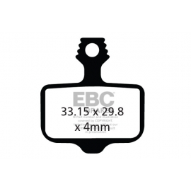 Klocki rowerowe EBC (organiczne) Avid Elixir CFA472