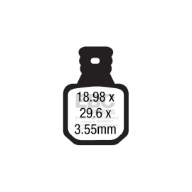 Klocki rowerowe EBC (organiczne) Magura MT5/MT7 CFA660/4