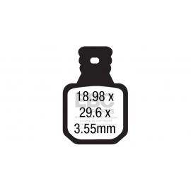 Klocki rowerowe EBC (organiczne wyczynowe) Magura MT5/MT7 CFA660/4R