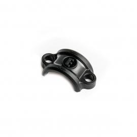 Handlebar clamp Carbotecture®, matt black, without screws (PU 1 piece)