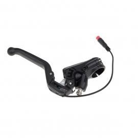 Master MT5e, opener, black, 3-finger aluminum lever blade with ball-end, black, HIGO-opener, normally closed, 150 mm tubing leng