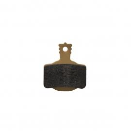 Brake pads 7.R, Race, gold, incl. pad retaining screw, MT disc brake 2 piston, 2 single brake pads (PU 1 set)