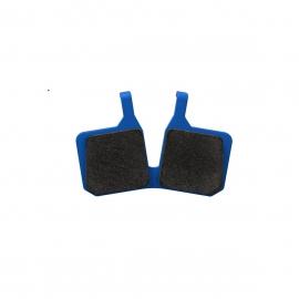 Brake pads 9.C, Comfort, blue, MT disc brake 4 piston, 2 single brake pads, ECE marking (PU 1 set)