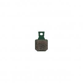 Brake pads 8.S, Sport, green, incl. 2 pad retaining screws, MT disc brake 4 piston, 4 single brake pads, ECE marking (PU 1 set)