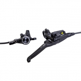CMe ABS rear brake, 4-finger aluminum lever with ball-end, 2,200 mm cable length, single brake, incl. accessories (PU 1 set)