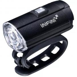 Lampka przednia Infini TRON 300 Black USB